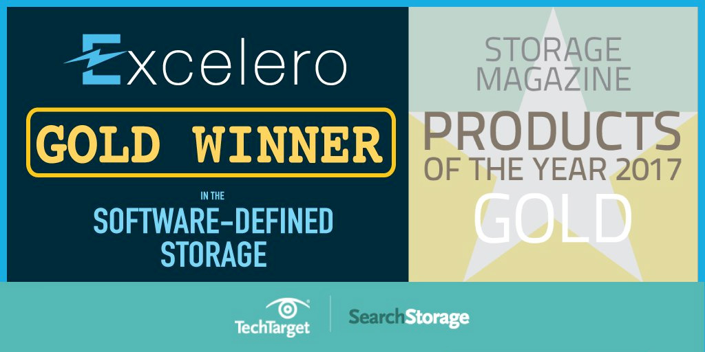 Excelero NVMesh Named Software-Defined Product of the Year by Storage Magazine and SearchStorage