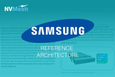Excelero High-Performance Server SAN with Samsung NVMe SSDs