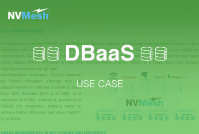Leveraging NVMes for DBaaS