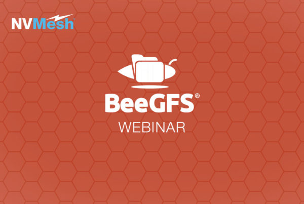 Combining the Power of NVMe with BeeGFS