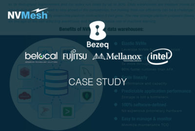 Bezeq Boosts Data Warehouse Infrastructure  Agility with Elastic NVMe