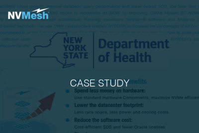 NY State Department of Health Brings Medicaid Analytics into the Future