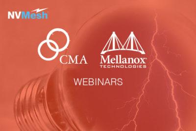 CMA Mellanox Excelero Webinar Replay: Using NVMe flash storage to maximize database performance